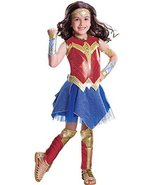 Wonder Woman Movie - Wonder Woman Deluxe Children's Costume, Rubies - £29.39 GBP
