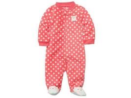 NEW NWT Girls Carters Fleece Sleeper Sleep and Play Size Newborn Owl  - $12.99