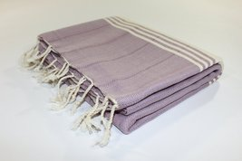 Turkish Towel Fouta Peshtemal Beach Bath Spa Yoga Hammam Gym Pool Towel Wrap Par - $21.37