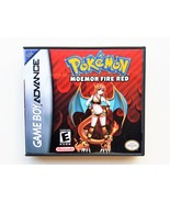 Pokemon Moemon Fire Red Game / Case - Gameboy Advance (GBA) USA Seller - $13.99+