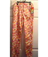 Girls Size 16  Star Rise Floral Denim Jeans Pan... - $16.99