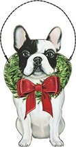 Primitives by Kathy Ornament - Christmas Frenchie Home Decor - $15.18