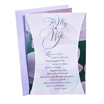 Hallmark Birthday Card for Wife Orchids - $8.65