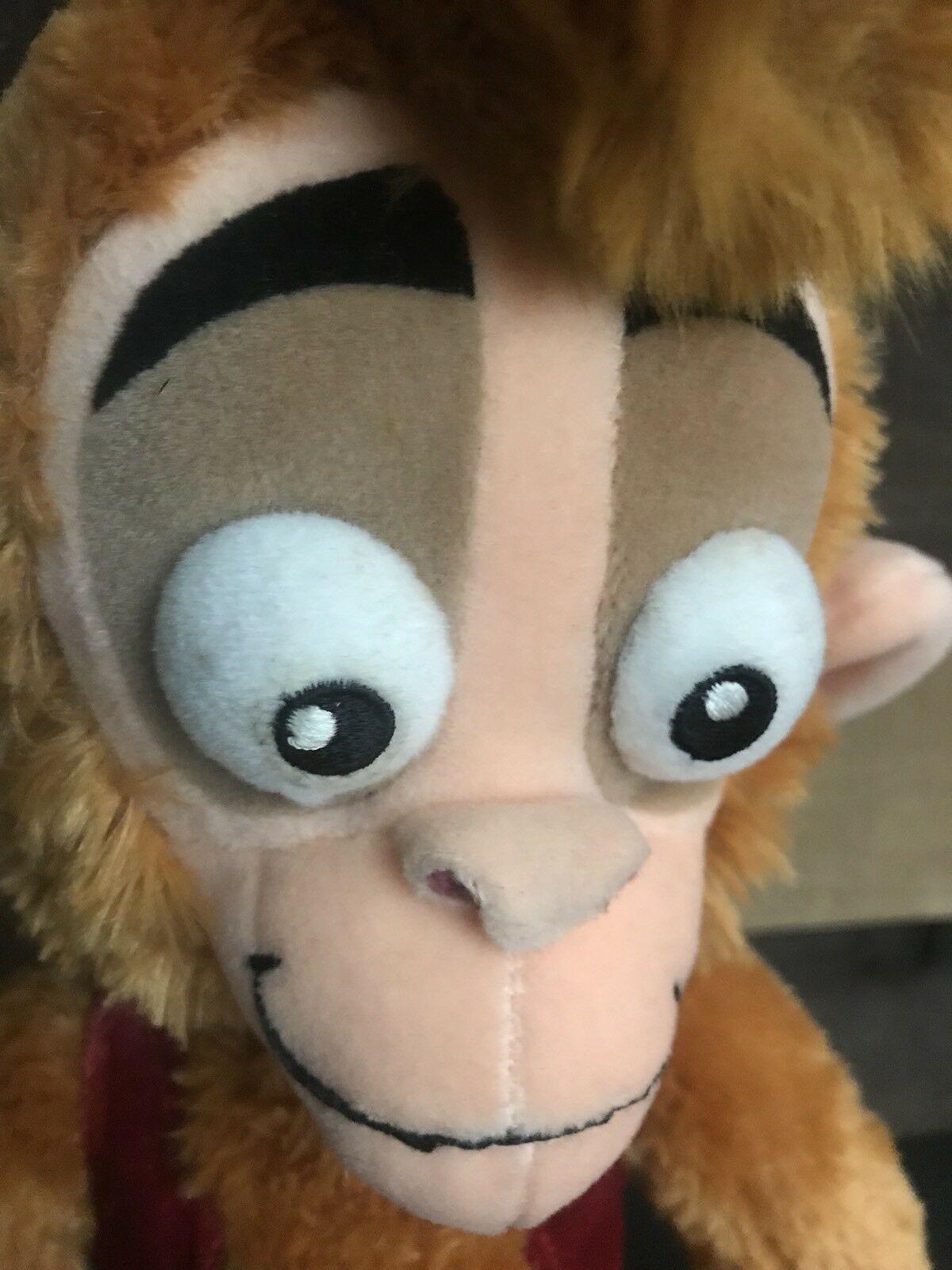 Disney Store Exclusive Apu Monkey Aladdin Plush Stuffed Animal Rare