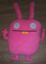 "UGLYDOLL Ugly Doll Wippy the Pink Plush Doll 18""  2010 - $9.89"
