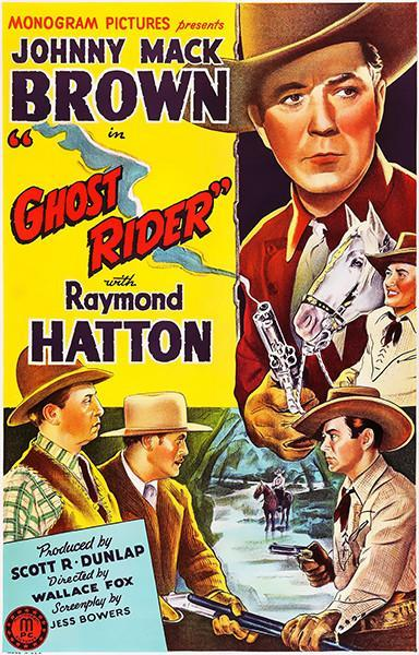 Primary image for Ghost Rider - 1943 - Movie Poster