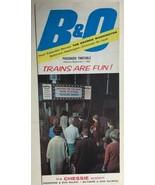 B&O RR Passenger Railroad Timetable September 7, 1965 - $9.89