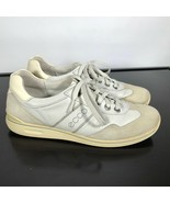 Ecco soft Women Sz 41/10-10.5 US Leather Casual Comfort Sneakers Walking... - $22.77