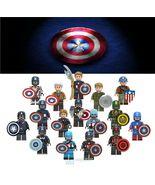 16pcs Style Different Captain America Avengers Endgame Hydra Custom Mini... - $34.99