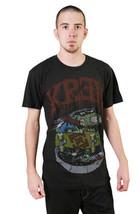 KR3W Swimming Skateboarding Mens Black Pool Ghoul Art Vintage T-shirt K52433 NWT image 2