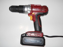 Chicago Electric 68851 18V Cordless Hammer Drill, and 18volt battery - $24.75
