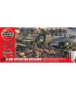 Airfix D-Day Operation Overlord 1:76 WWII Military Diorarama Plastic Mod... - $75.22