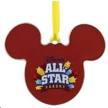 Disney World All Star Resort Ceramic Ornament, NEW - $26.95