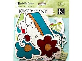 K&Company Isabell Grace Die-Cut Cardstock Pieces #Set of 51