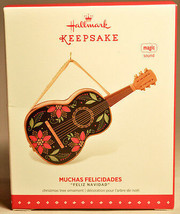 Hallmark: Muchas Felicidades - Holiday Guitar - 2015 Keepsake Ornament - $18.70