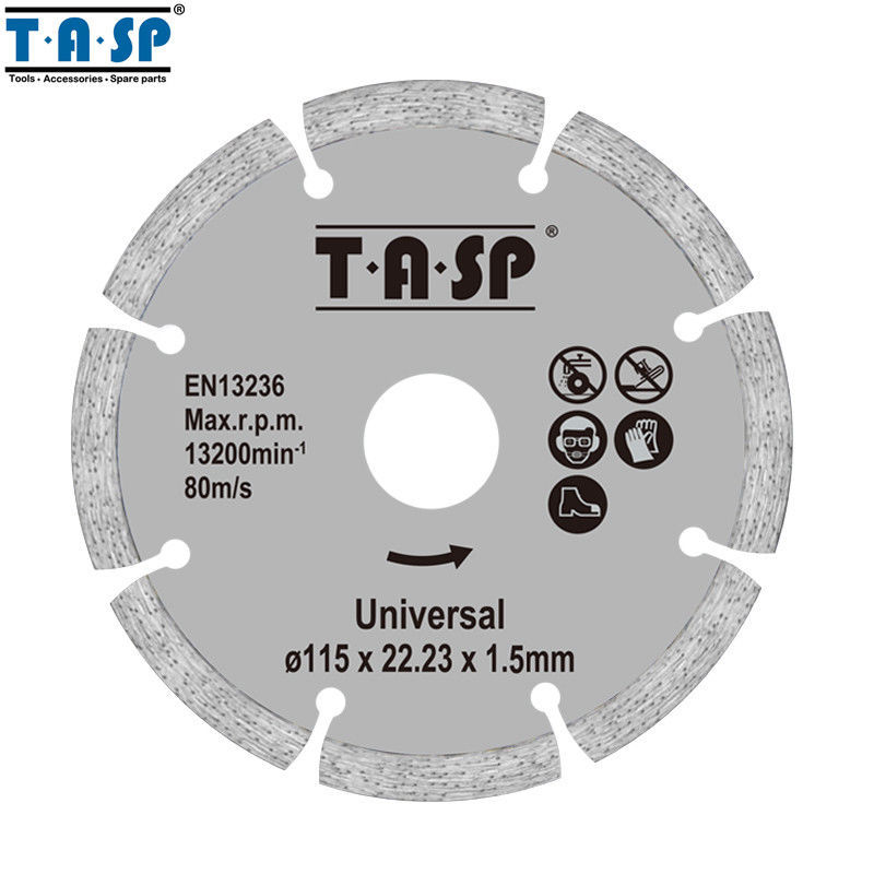 "Primary image for TASP® 2pc/Set 115mm Diamond Cutting Disc 4.5"" Angle Grinder Saw Blade For Brick"