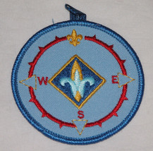 Cub Scout Discontinued BSA Webelos Compass Point Emblem Patch Free Shipping USA - $11.14