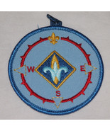 Cub Scout Discontinued BSA Webelos Compass Point Emblem Patch Free Shipp... - $11.14