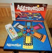 Milton Bradley Aggravation Family Board Game 1989 Complete - $24.48