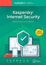 Kaspersky Internet Security 1 Device / 1 Year (US & CANADA Key Card) 2019 - $18.55