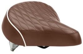 Schwinn Quilted Springer Cruiser Saddle Seat, Brown - $14.83