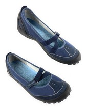 Privo by Clarks 74660 Mary Jane Walking Driving Shoes Navy Blue Women's 7M - $35.59