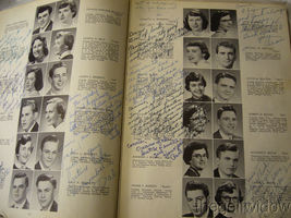1954 Union Endicott High School Yearbook - Thesaurus image 3
