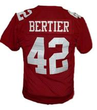 Bertier #42 T.C.Williams The Titans Movie New Football Jersey Maroon Any Size image 2