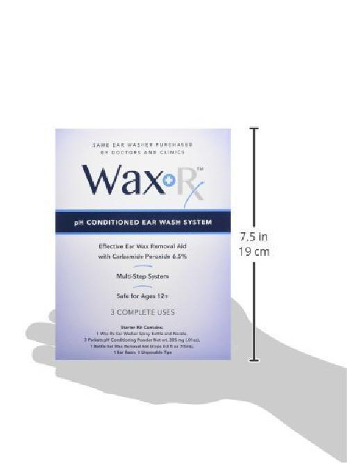Ear Wax Removal System Easy Conditioned Ear Wash 15.2 Ounce Ear Cleaning