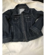 Children's Calvin Klien Jean Jacket Size 5 - $25.00