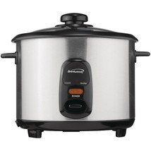 Brentwood Appliances TS-10 5-Cup Stainless Steel Rice Cooker - $42.57