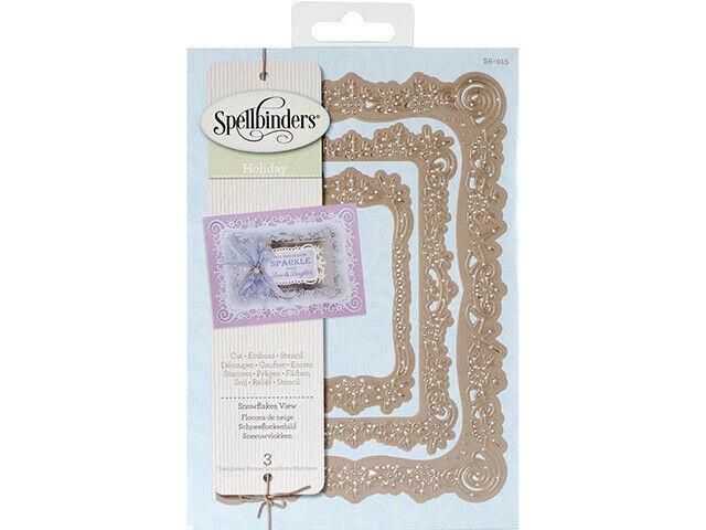 Spellbinders Holiday Snowflakes View Die Set #S6-015