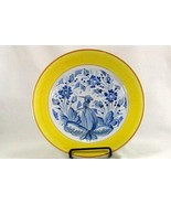 Made In Italy Delft Blue Pottery Dinner Plate Numbered 740/0462 - $11.08