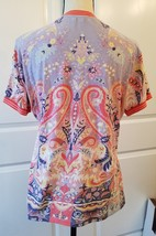 Etro Spa Designer Women's Multi Colored Top  Size 48 / L  image 11