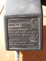 Original Panasonic KX-TCA1 AC Power Adapter Charger for Cordless Phone - $4.00