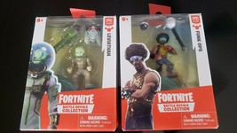 """2018 Fortnite Battle Royale Collection Funk Ops & Leviathan. 2"""" Epic Lot Of 2 - $15.88"""