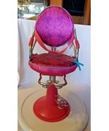 "Our Generation for 18"" Dolls Beauty Salon Chair, Pink, OG Girl, Battat - $55.69"