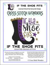 If The Shoe Fits halloween cross stitch chart Cross Stitch Wonders - $5.00