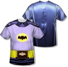 Batman Clásico TV Sublimación DC Comics Disfraz 2 Sided Poliéster Camisa S-3XL - $30.36+