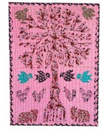 Rastogi Handicrafts Tree of Life Cloth Patch Work Small Tapestry Home Decor - $23.65