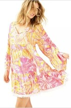 NWT new tags Lilly Pulitzer amisa dress tunic XS orange pink $120 - $87.07