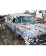 Cadillac Hearse junkyard 24X36 inch poster, muscle car, classic - $18.99