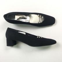 Stuart Weitzman Womens Black Heels 9.5 A86 - $74.56