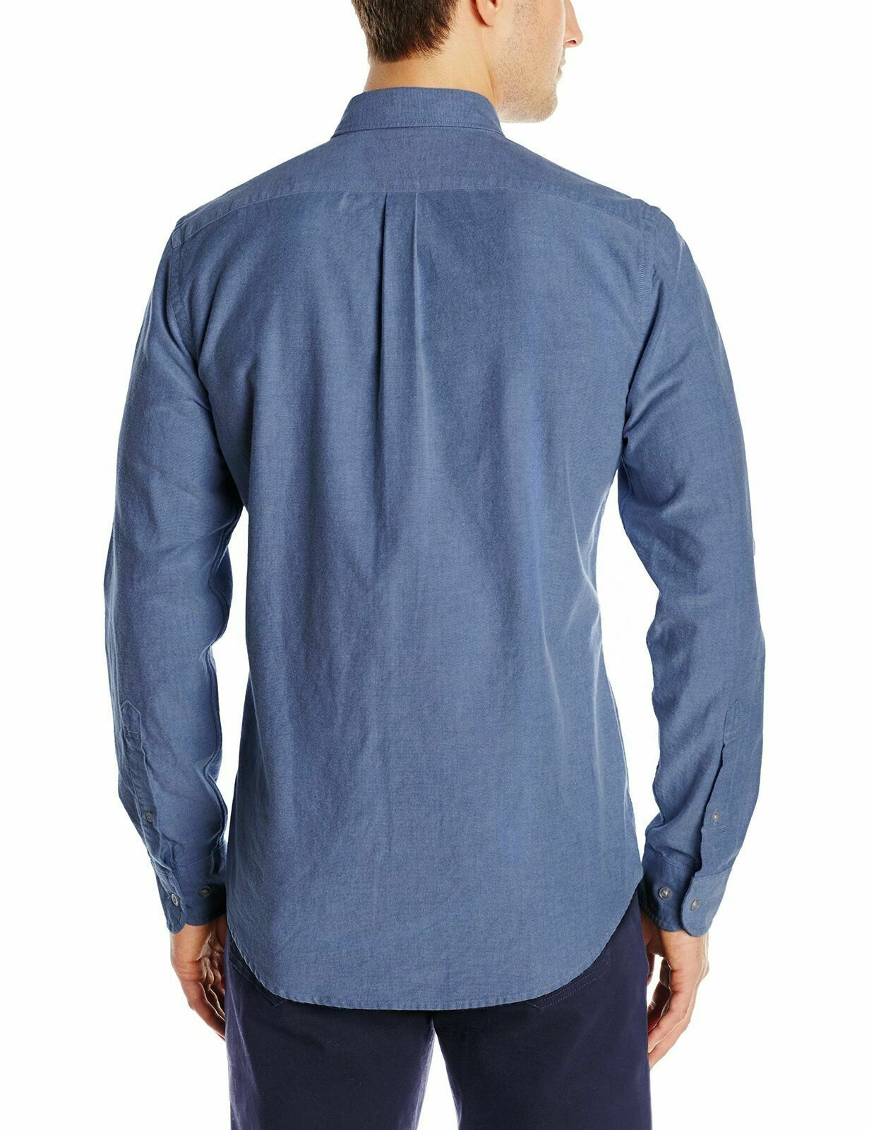 Goodthreads Men's The Perfect Oxford Shirt Slim-Fit Long-Sleeve Indigo Solid XXL