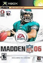 Madden NFL 06 (Microsoft Xbox, 2005) Case And Instructions Included - $7.70