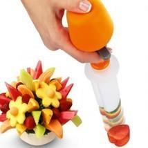Fruit Salad Carving Vegetable Arrangements Smoothie Cake Kitchen Gadgets... - $10.39