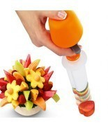 Fruit Salad Carving Vegetable Arrangements Smoothie Cake Kitchen Gadgets... - £7.85 GBP