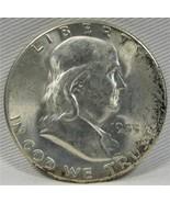 1953-S Franklin Half Dollar 80% FBL AE727 - $2,302.93