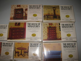 Lot of 11 NEW House of Miniatures Kits 40015 40011 40012 40013 40004 40001  - $197.99