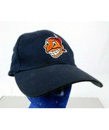 Cleveland Indians Chief Wahoo Logo 1948 Black Baseball Cap Hat Cooperstown  - $109.99